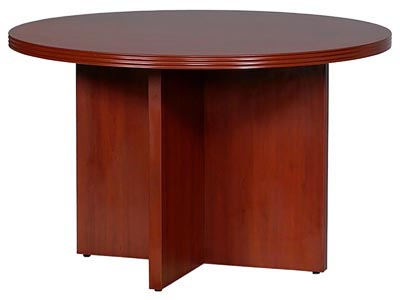 """70's Series 48"""" Round Conference Table"""