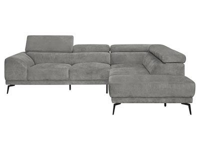 Graceland Gray 2PC Sectional Sofa