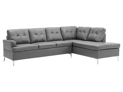 Jessica Gray 3PC Sectional Sofa