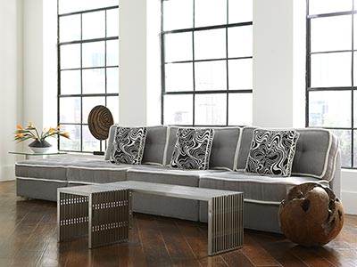 Rent the Lounge Armless Sectional