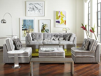Rent the Lounge Armless Living Room Set
