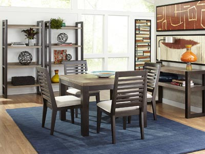 Helix 5 PC Square Dining Set