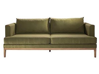 Capri 2 PC Outdoor Sofa & Chair Set