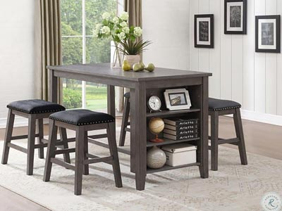 Timbre 5 PC Counter Height Dining Set