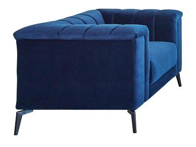 Chalet 2 PC Blue Sofa & Chair Set