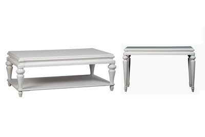 Bianca  2 PC Coffee & End Table Set