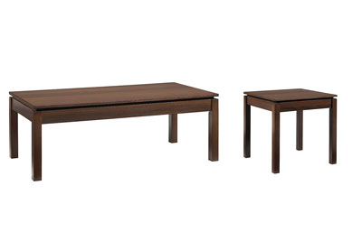 Clarence 2 PC Coffee & End Table Set
