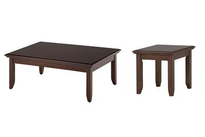 Colfax 2 PC Coffee & End Table Set