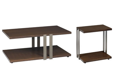 Conal Cocktail Table & End Table Set