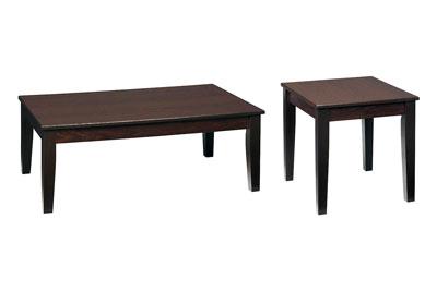 Dakota Skyline 2 PC Coffee & End Table Set