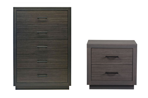 Rent the Dorian Nightstand & Chest of Drawers