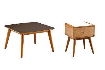 Hendrick 2 PC Coffee & Side Table Set