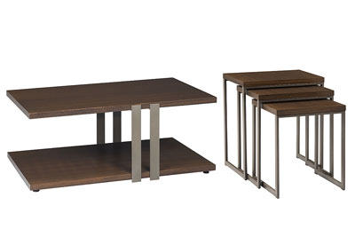 Conal 2 PC Coffee & Nesting Tables Set