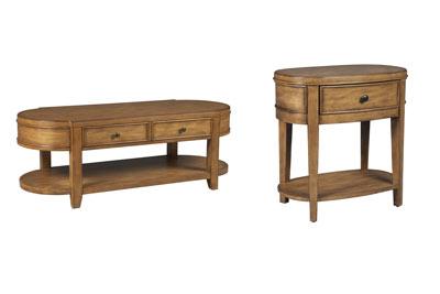 Kinsley 2 PC Coffee & End Table Set