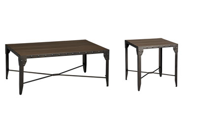 Mackenzie 2 PC Coffee & End Table Set