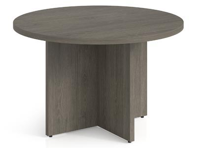 "Rent the Totem 48"" Round Conference Table"
