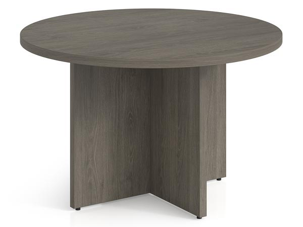 """Rent the Totem 48"""" Round Conference Table"""