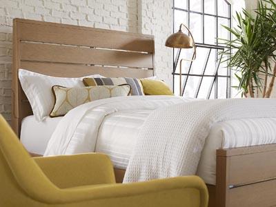 Rent the Hygge Queen Platform Bed