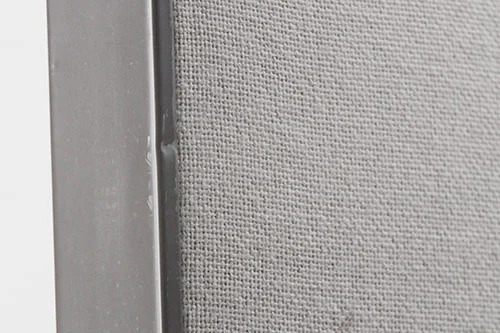 Used office panel with light scuff marks on edge