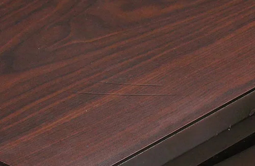 Used bedroom furniture top with light scratches